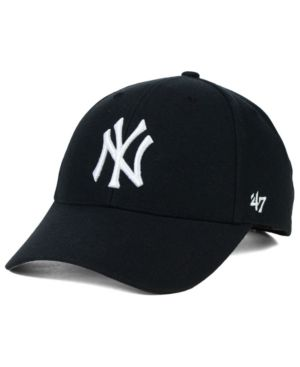061a91169099b 47 Brand New York Yankees Mvp Curved Cap - Black Adjustable in 2019 ...