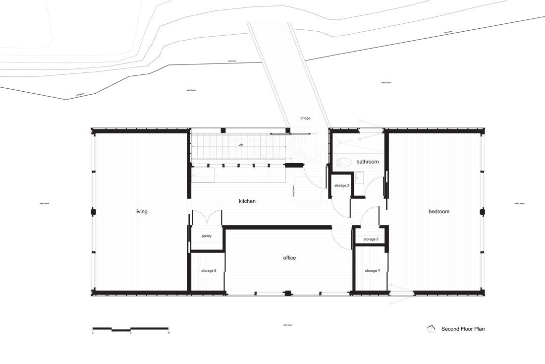 Architecture · Lake Huron Houseboat  C:GSD_WORKMeredith_WORKfholt_boathouseboathouse ...