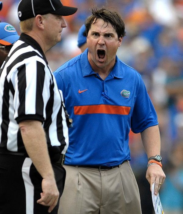 Coach Boom Yelling At A Referee During A Florida Game For Insider