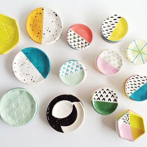 66 tolle Töpferideen mit Anleitung, die man einfach in der Vorweihnachtszeit umsetzen kann #ceramiccafe