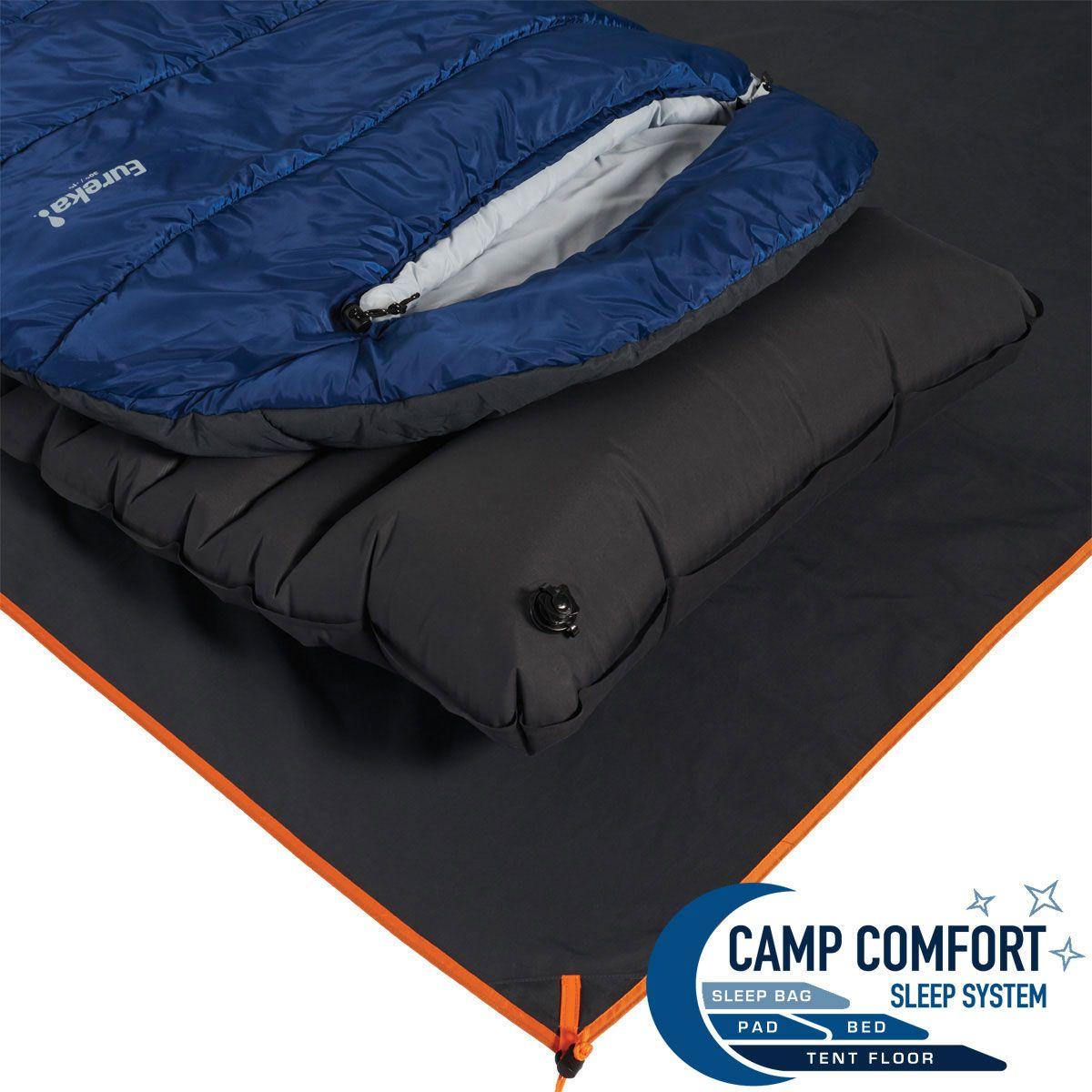 Camp Comfort™ Tent Floor 6P Rectangular Eureka! Tent