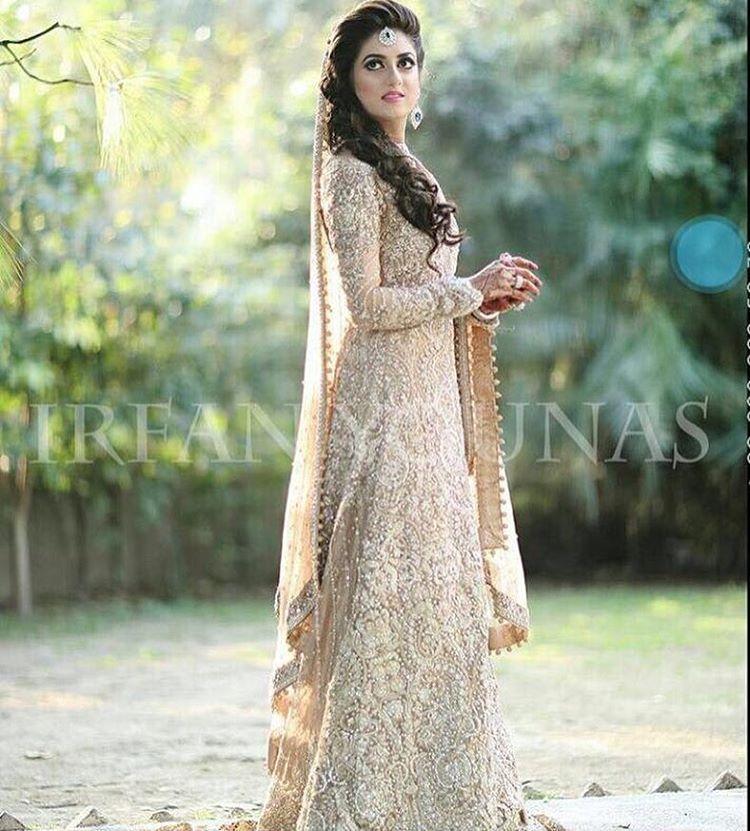 Pinterest beauty0321 walima pinterest pakistani for Indian muslim wedding dress