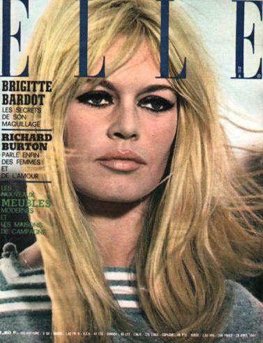 Elle April 1967 In 2019 Style Brigitte Bardot Bridgitte Bardot