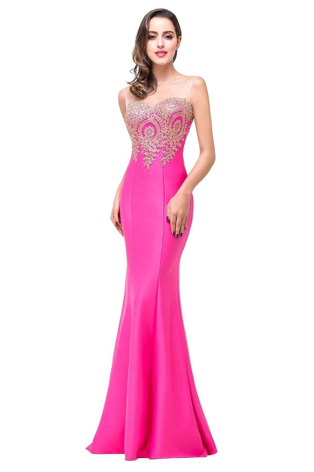 Robe de soiree longue sexy backless red mermaid lace evening dress