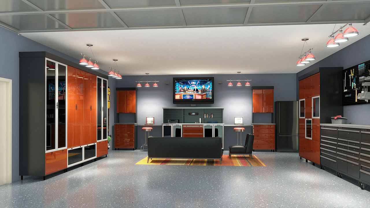 From Garage To Ultimate Mancave Imgur Garage Design Interior