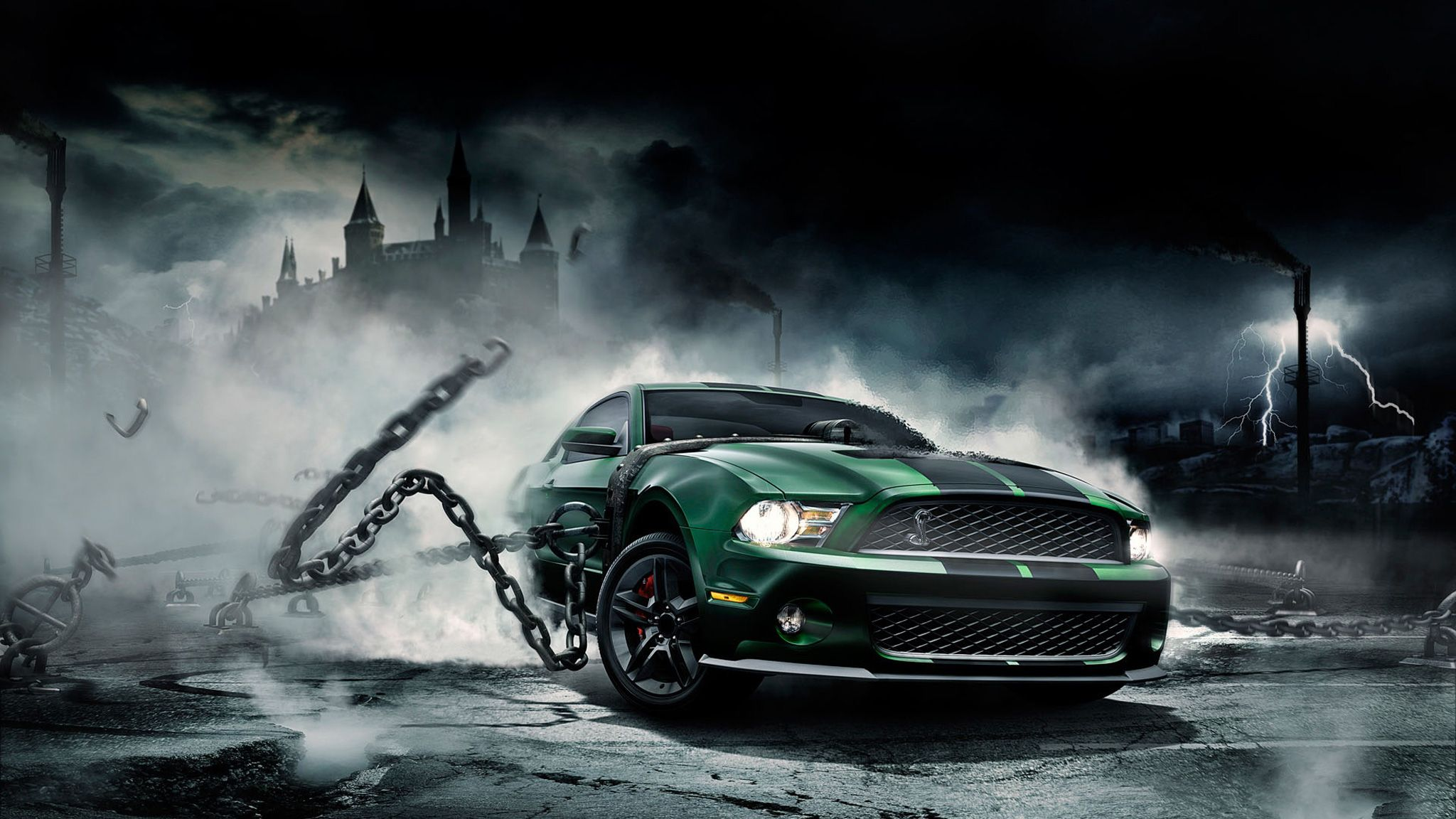 Fantasy Wallpaper And Backgrounds Powerful Car Fantasy