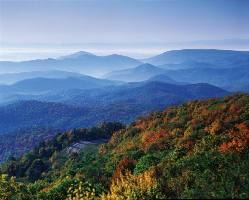 Blue Ridge Mountains Living In North Carolina Virginia Is