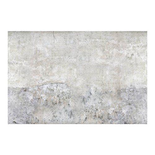 Apalis 106120 Beton Vlies Tapete, Shabby Betonoptik, Breit, 290 x - wohnzimmer tapeten braun beige