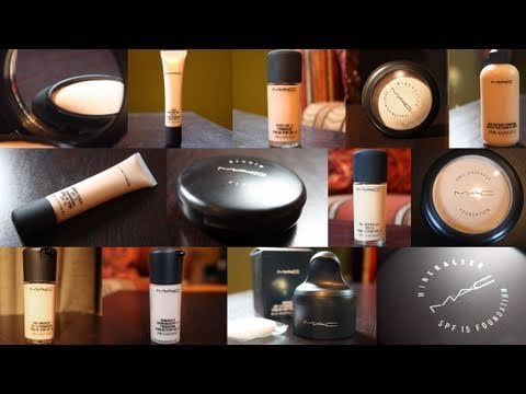 Grab a bucket of popcorn and buckle in! This is a complete guide to MAC Foundations featuring information on every foundation MAC has in production as of Fall/Winter 2010.     Included in this video are links to more detailed reviews and application videos. Follow the links below and please contact me with any questions! Thanks for watching!    Skip...