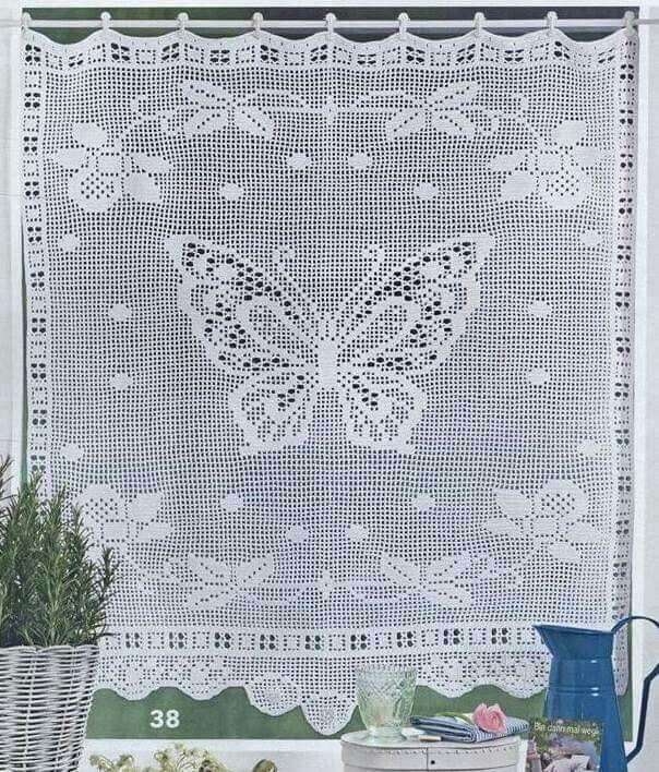 Pin von Anna Paszek auf Filet szydełko   Pinterest