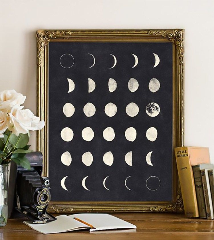 How To Work In Tune With The Moon Decoracion De Unas Decoracion