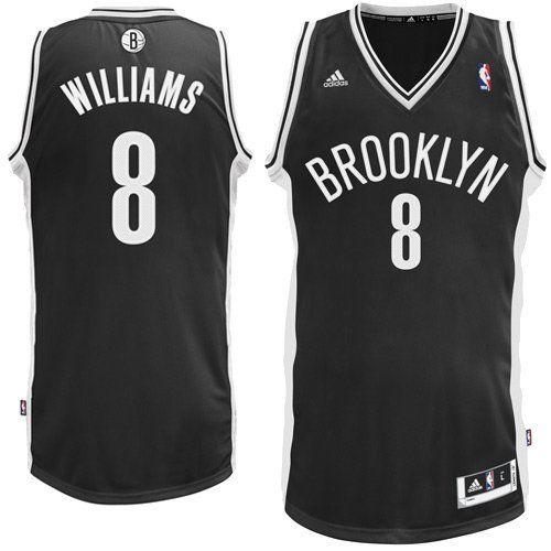 e4e0d0830 Nets 8 Williams White New Revolution 30 Jerseys NBA Brooklyn Nets Deron  Williams 8 Swingman Jersey