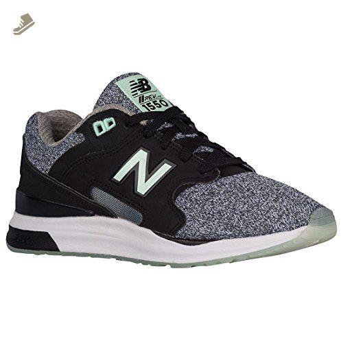 New Balance Women's WZ501V1 Sneaker, BlackGunmetal, 10 B US