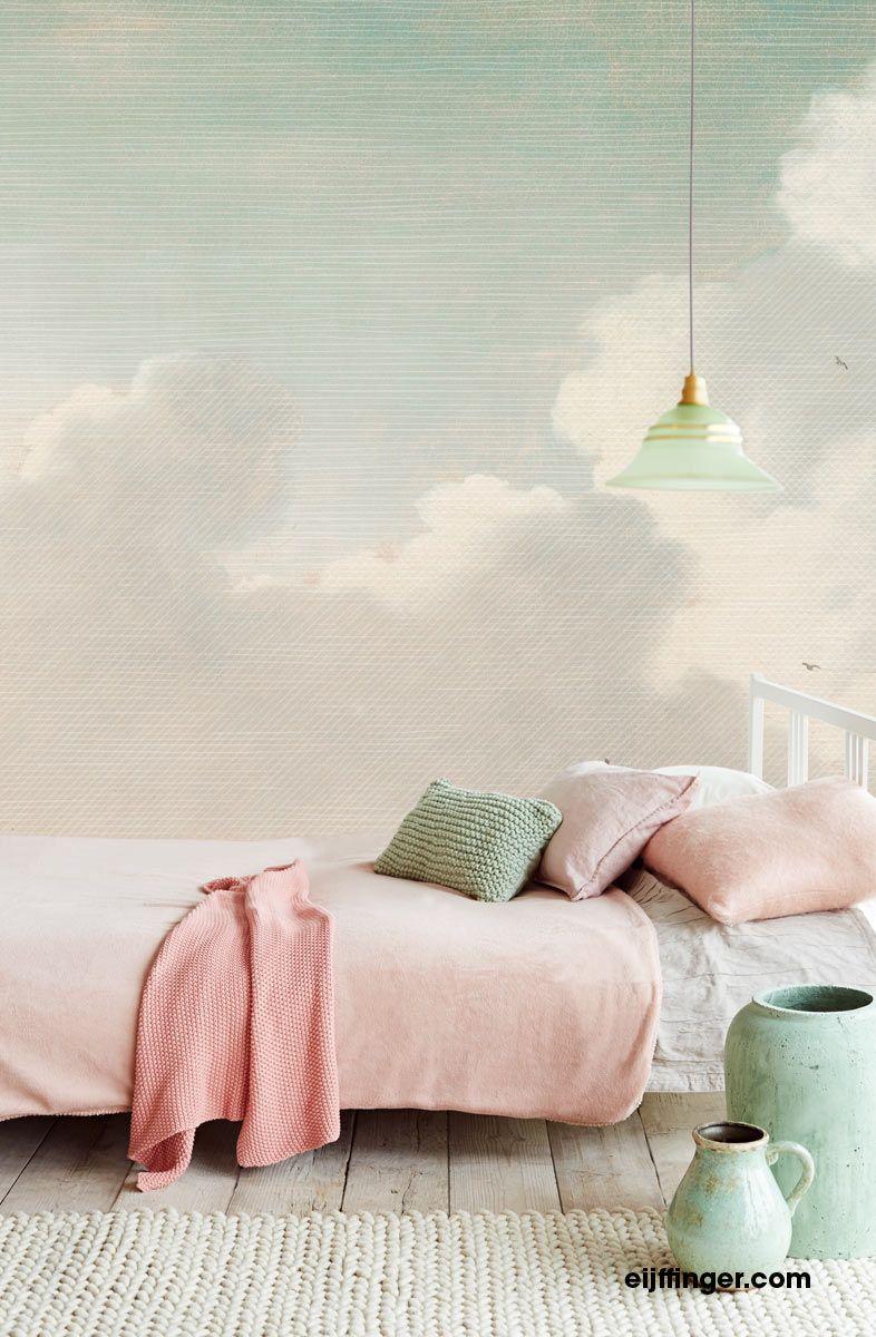 wolkentapete fototapete wolken eijffinger east home ii in 2019 schlafzimmer tapeten. Black Bedroom Furniture Sets. Home Design Ideas