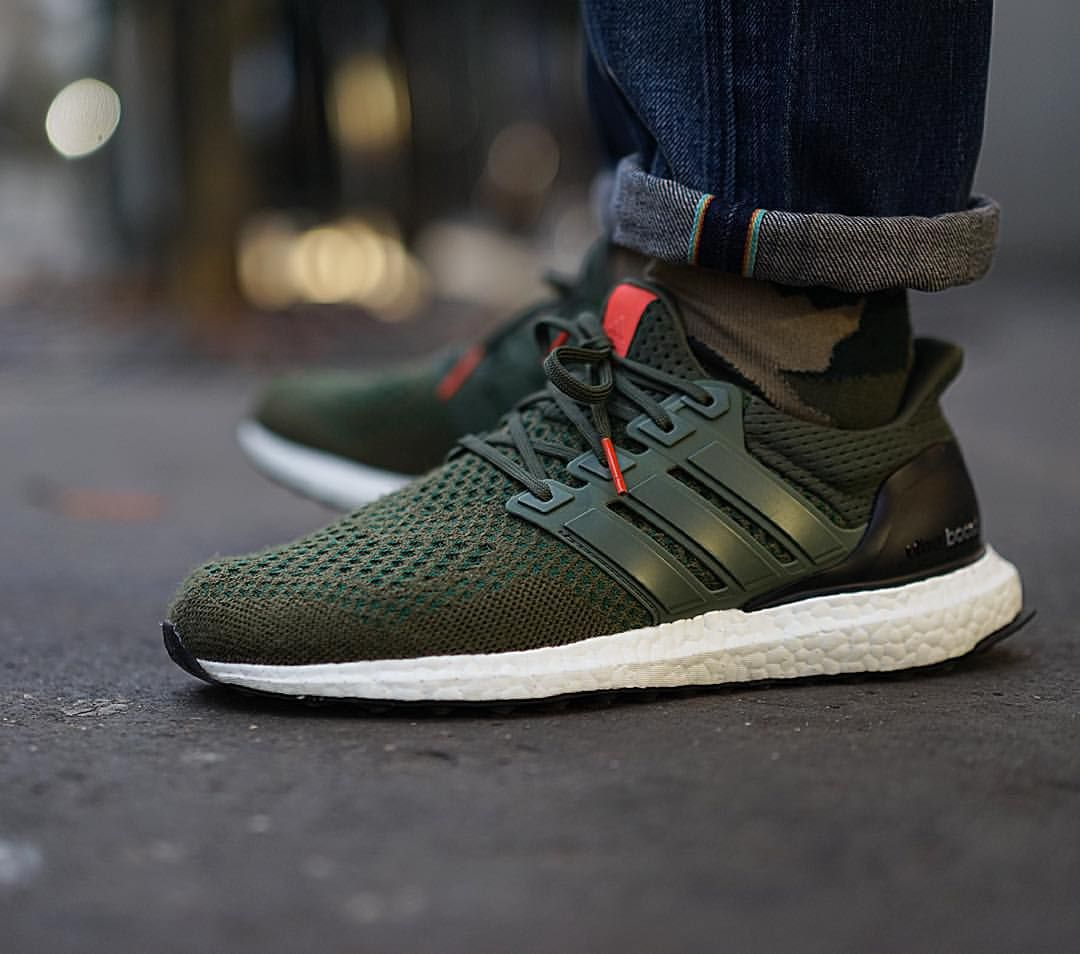 designer fashion 67294 c69fd Adidas Ultra Boost  Forest Green