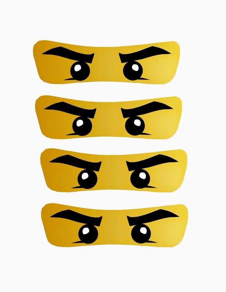 Ausmalbilder Ninjago Gesicht: Bildergebnis Für Ninjago Party