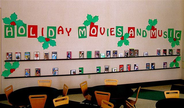 Enjoy the sights and sounds of the Holidays with some music and movies from the Lester Public Library.