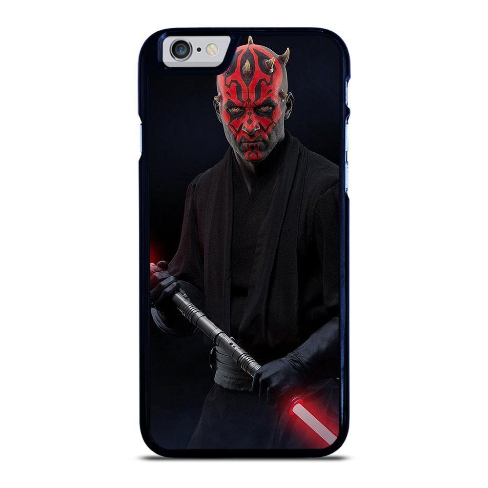 STAR WARS DARTH MAUL 4 iPhone 6 / 6s Case - Black / Rubber