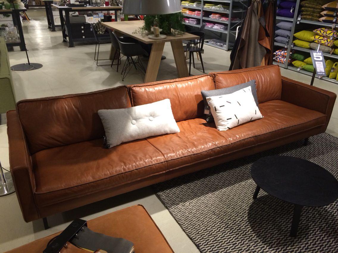 Bruin leren bank loods5 leren bank pinterest - Lederen sofa zitter ...