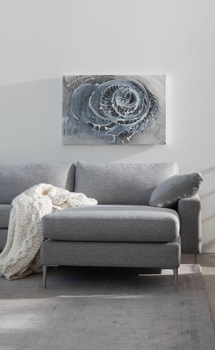 Contemporary Gray Sectional Sofa Modern Grey Sectional Mid Century Modern Sectional Sofa Sectional Sofa