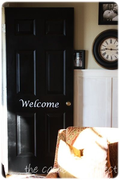 Dont Cheat On Quality Spray Paint Front Door Redo Pinterest