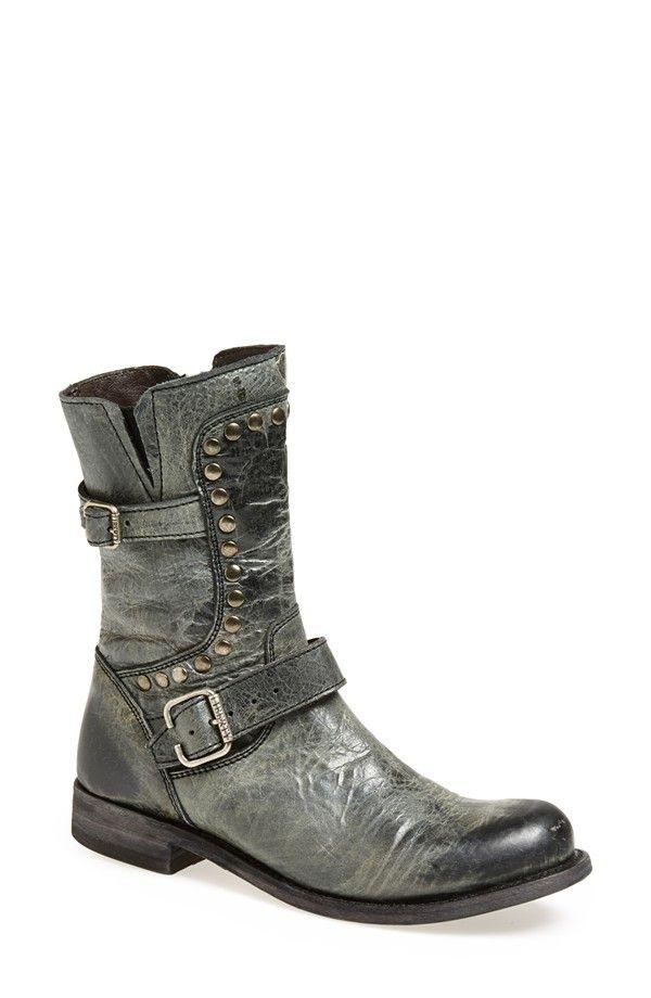 LIBERTY BLACK Medium Distressed Black Boot from Sabi Boutique