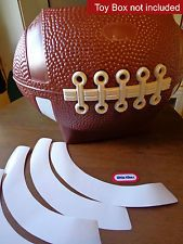 Football Toy Box : football, Rhonda, Braziel, Projects, Boxes,, Little, Tikes,, Decals, Stickers