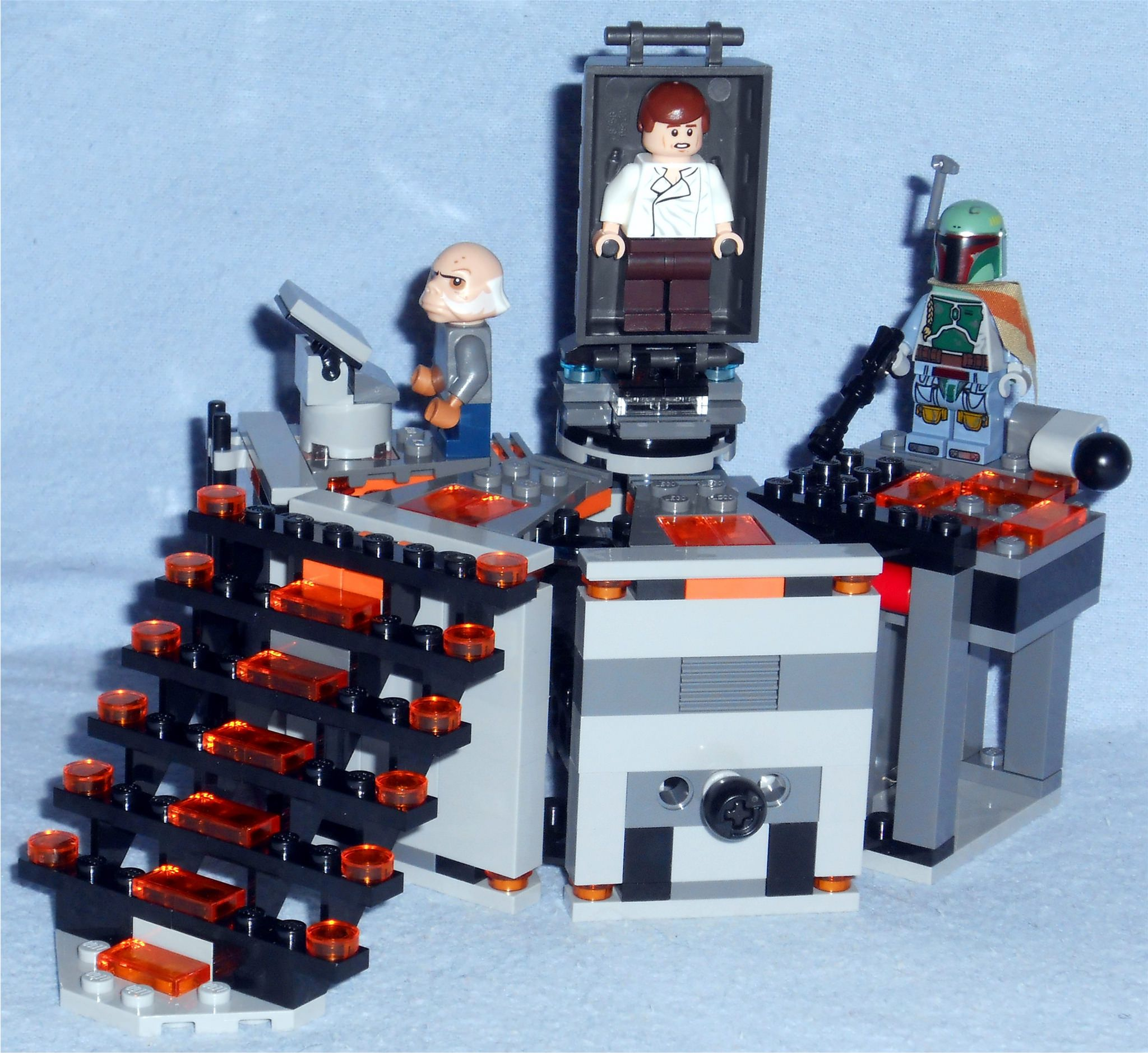 Lego CarbonFreezing Chamber Boba Fett Lego Star Wars - 25 2 lego star wars minifigures han solo han in carbonite blaster