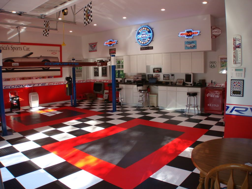 Man Cave Storage Qld : Multi color garage walls the journal board