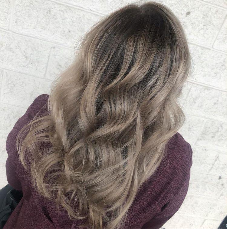 Townsley und schwule Immobilien Gefärbter Haarfarbenfetisch
