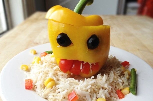 Image result for kid eating a chili