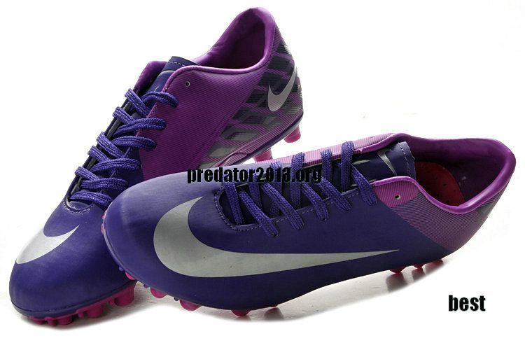the latest 9a3f2 b238c Nike Mercurial Vapor 8 AG Soccer Cleats Purple Silver  Purple  Womens   Sneakers