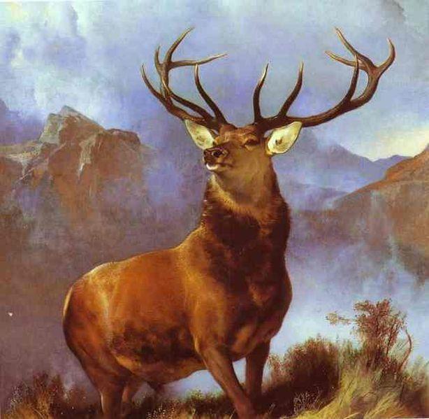 Monarch of the Glen, by Edwin Landseer.