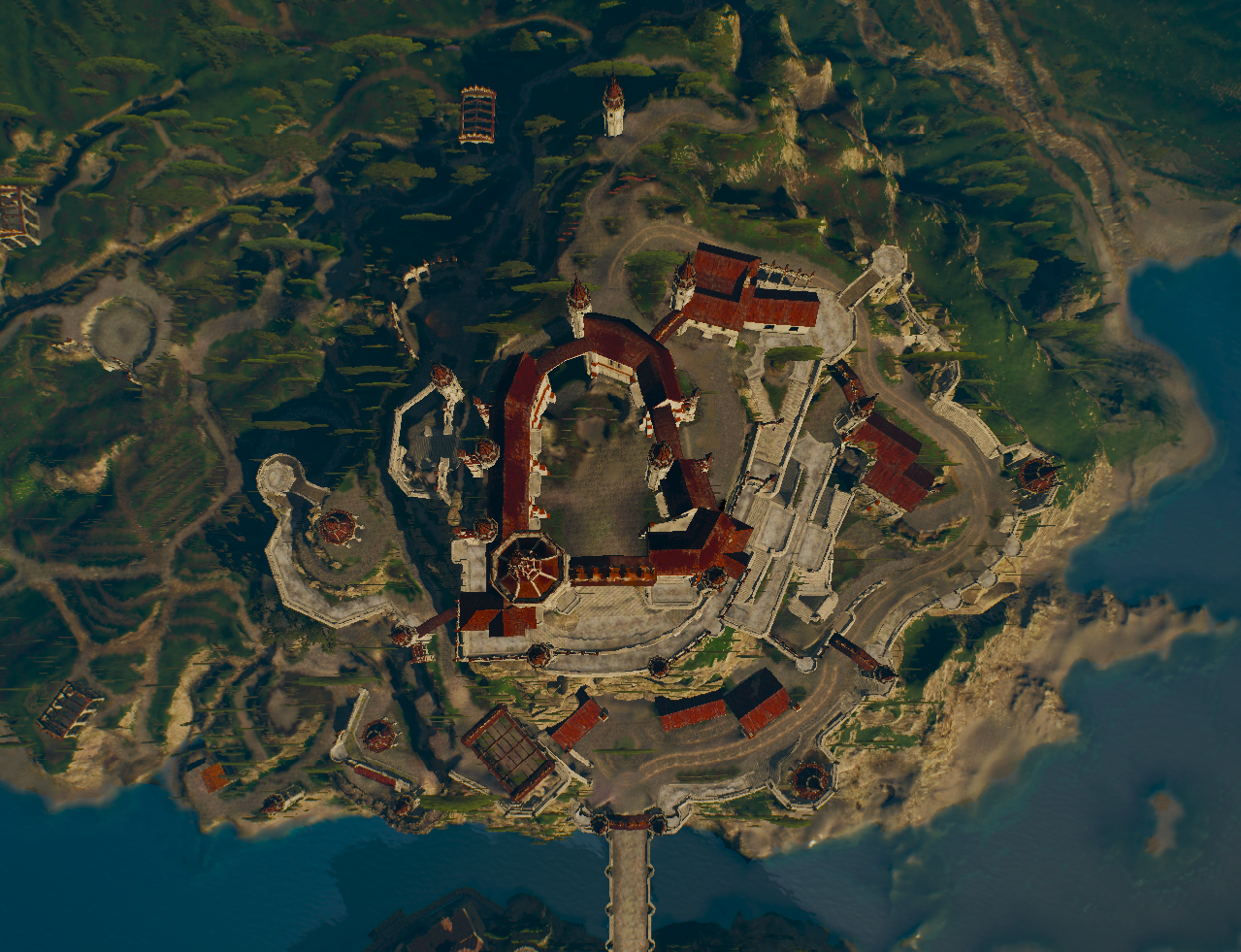 Baddeecaag castle inspiration