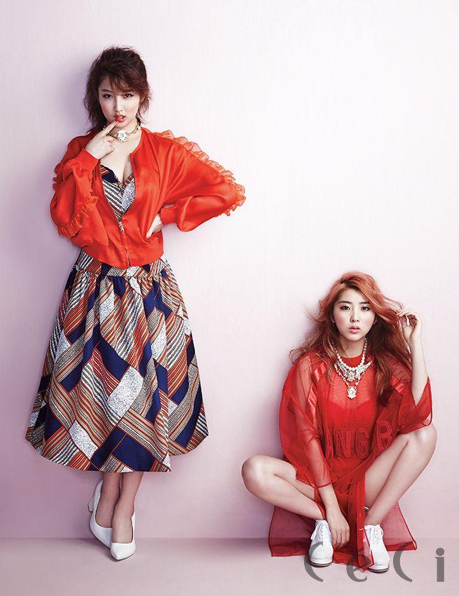 남지현 & 권소현 - Ceci [April Issue '14]