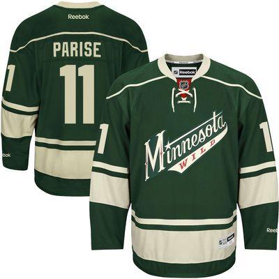 c906713eb Reebok Zach Parise Minnesota Wild Premier Player Jersey - Green size med or  large... I think Large