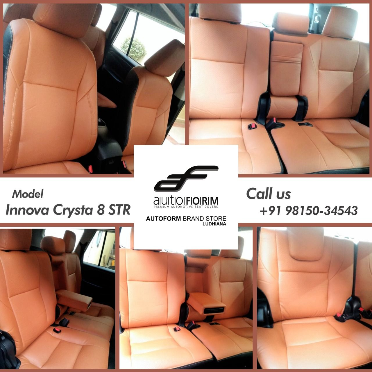 Toyota Innova Crysta 8 Str Is Packed Up With Riviera Series Tan