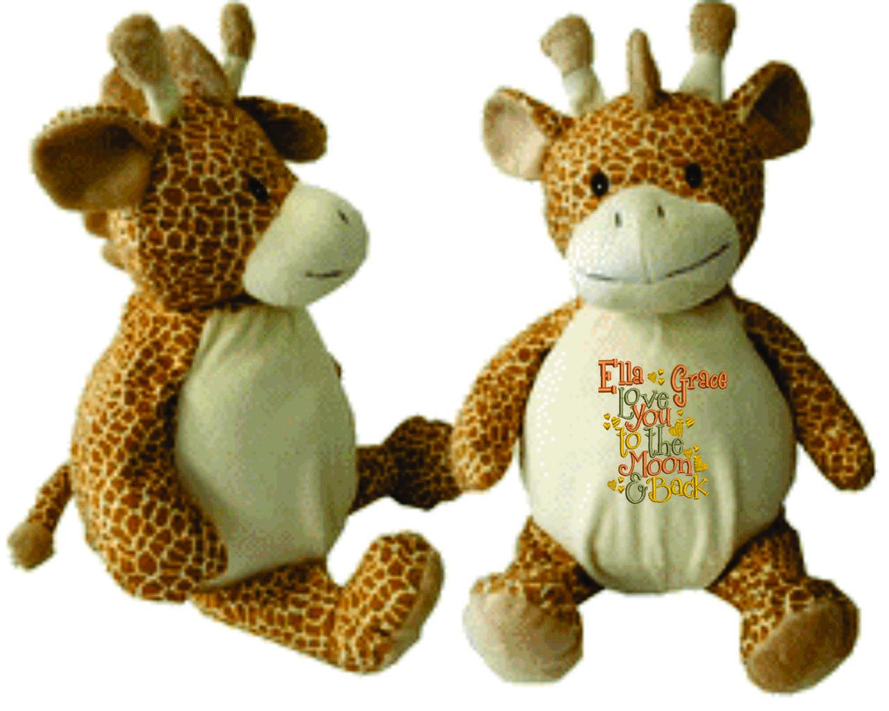 Gerry giraffe buddy personalized stuffed animal baby gift birth gerry giraffe buddy personalized stuffed animal baby gift birth announcement animal negle Gallery