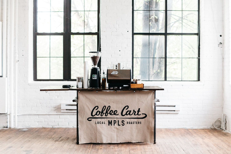 Coffee Cart MPLS mobile espresso bar Coffee on my mind