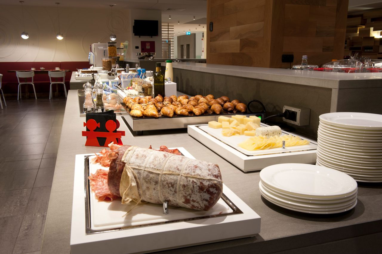 The Buffet with our typical dish- Hotel Residence Le Terrazze ...