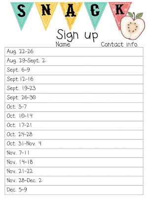 printable sign up sheet - Bing images | sign in sheets | Pinterest ...