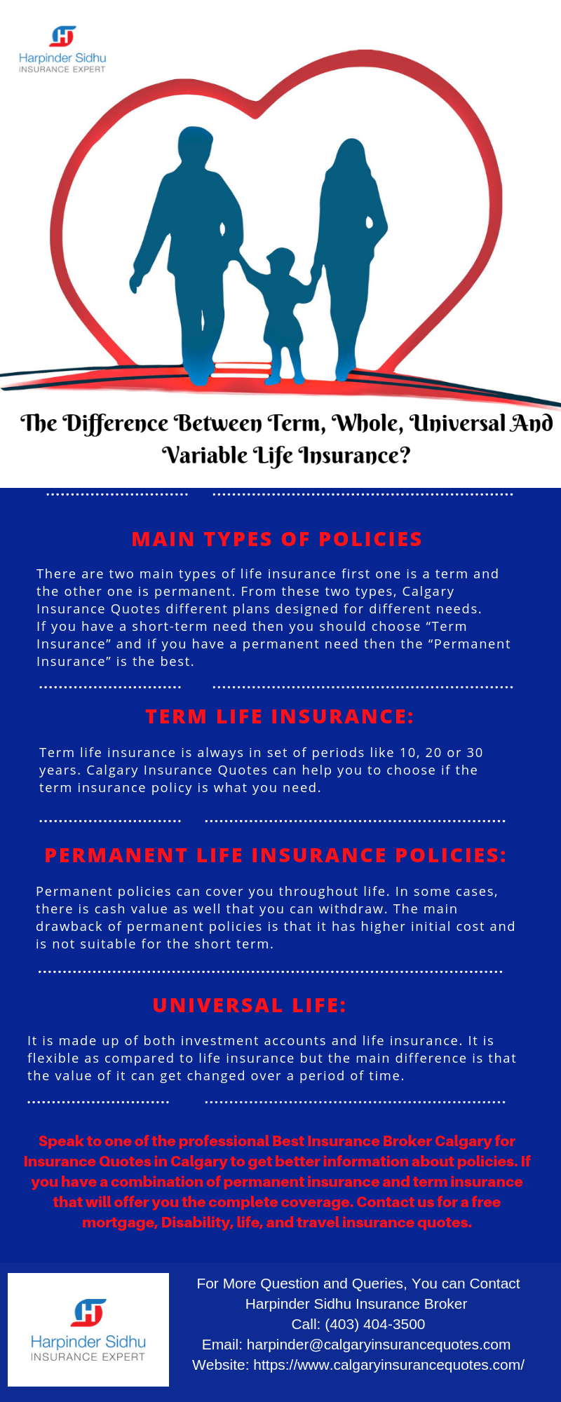 The Difference Between Term Whole Universal And Variable Life Insurance Term Life Insurance Quotes Life Insurance Quotes Life Insurance Calculator
