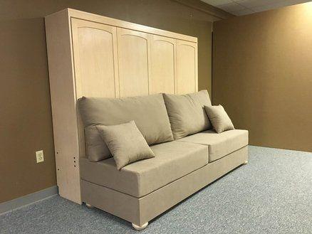 Horizontal Murphy Bed W Sofa D Horizontal Murphy Bed