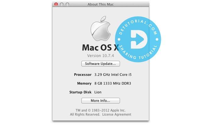 Download Mac OS X Lion 10 7 4 DMG Single Link Gdrive - Unduh Mac OSX