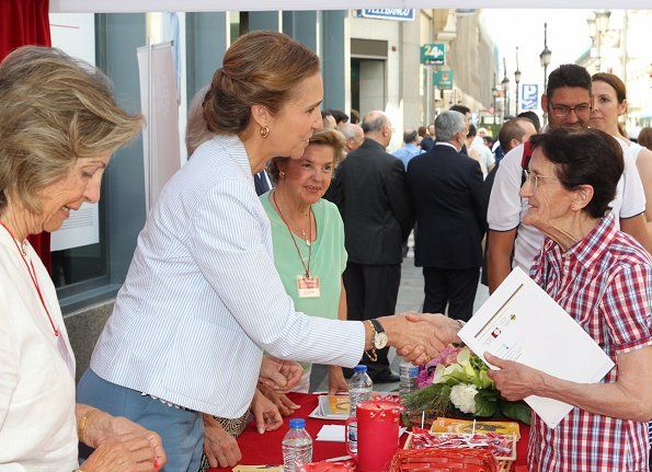 15-6-2017 Infanta Elena attends 'Charity Day' event in Madrid