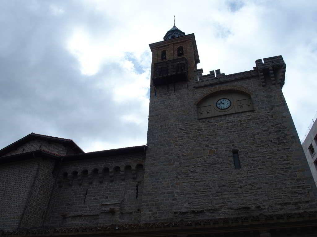 Iglesia De San Nicolas De Pamplona Camino De Santiago En Navarra