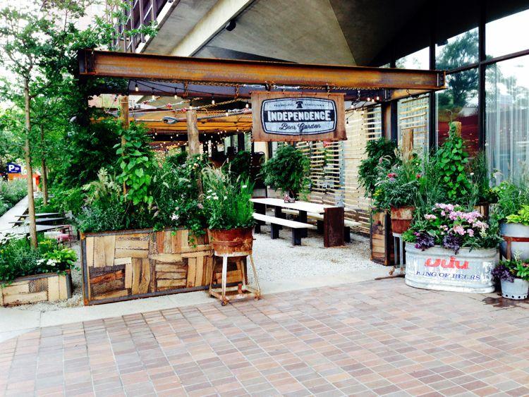 A Mive New Beer Garden; Philly's Best Meat-Free Meals | West ... Beer Garden Design on college bar design, silent auction design, long bar design, soda fountain design, beer grotto, jazz lounge design, temporary structure design, cocktail bar design,