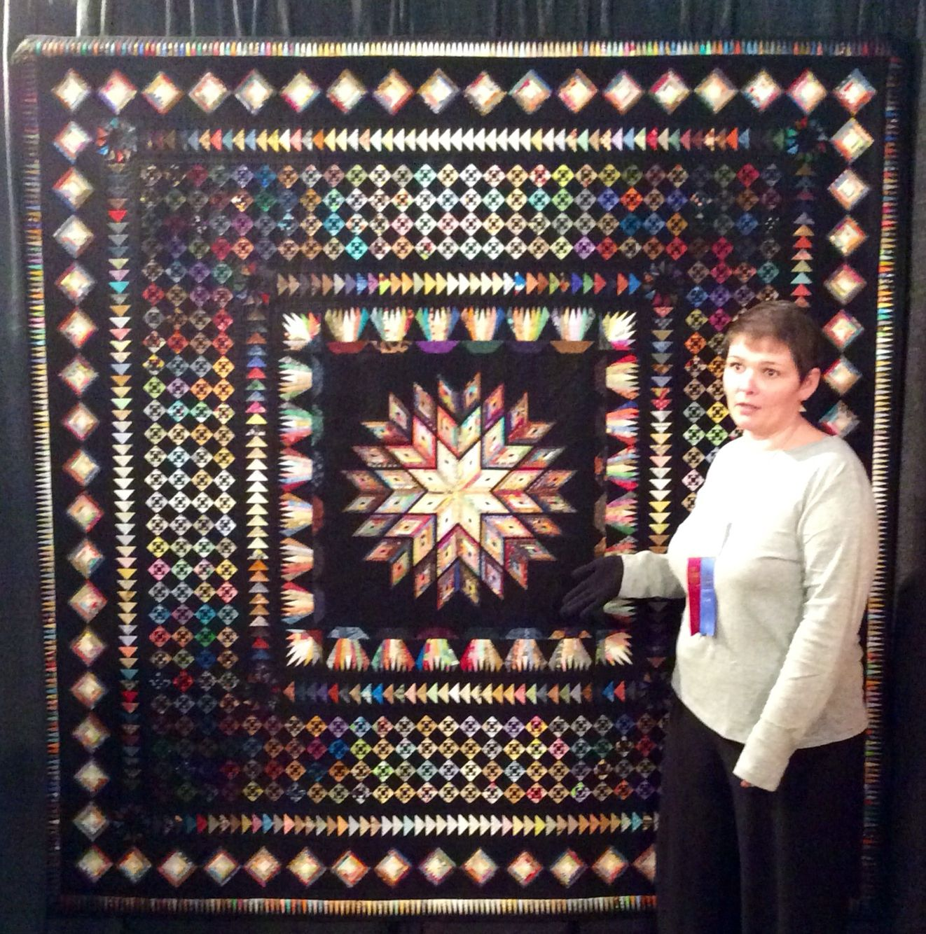 "Amazing Quilts: This Amazing Quilt Is Called ""why Not?"" And Is The First"