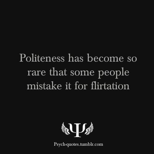 Kindness Mistaken As Flirting?