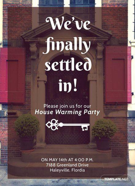 housewarming invitation template microsoft word new free